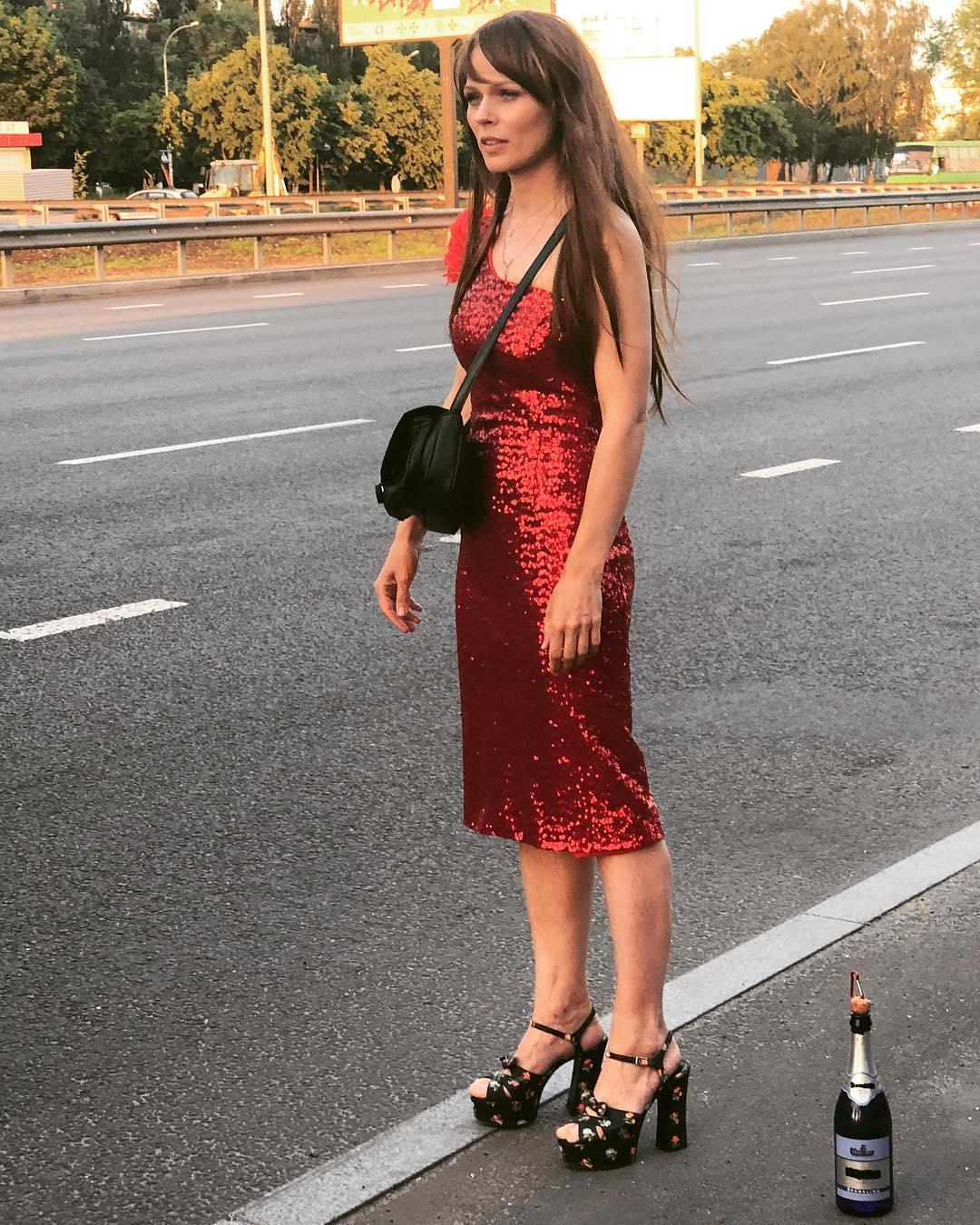 Снимают проституток на трассе в москве видео #9