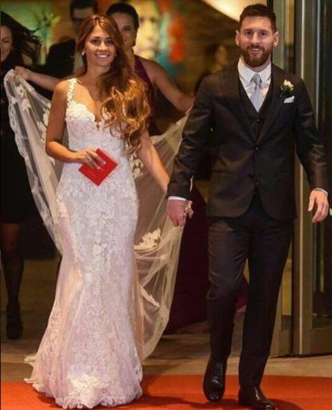 Свадьба Месси прошла при повышенных мерах безопасности