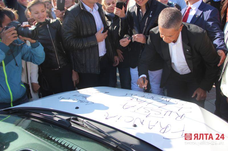Звезда фильма «Такси» желает снять фильм вКрыму