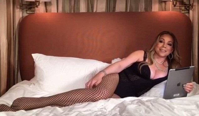 Mariah Carey Bare Boobs