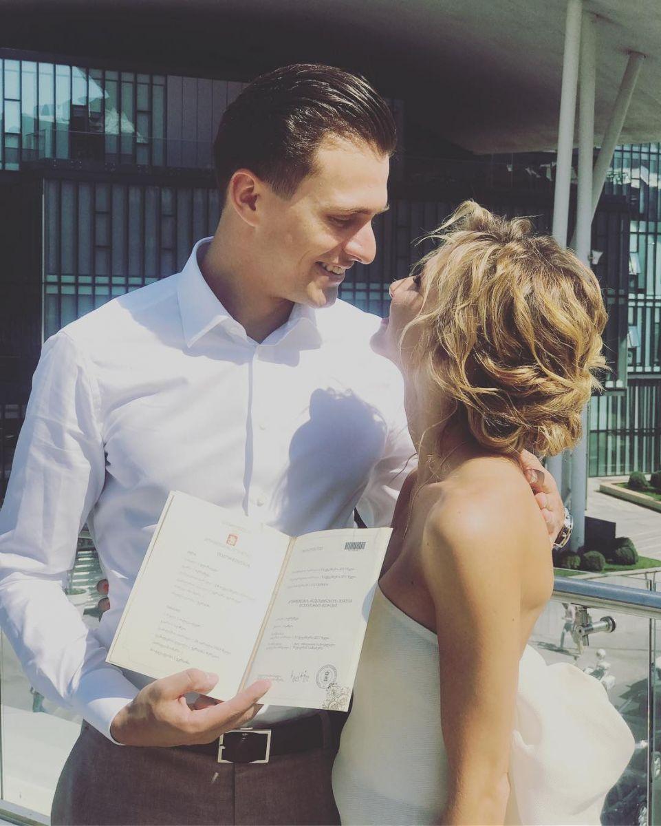 Появились трогательные фото ивидео сцеремонии вгорах— Свадьба Скичко