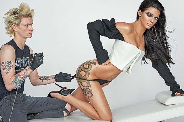 Ким кардашьян татуировки 129