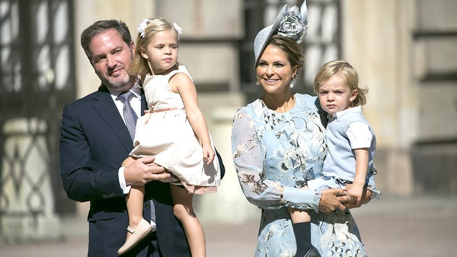 Принцесса Швеции Мадлен стала мамой в 3-й раз