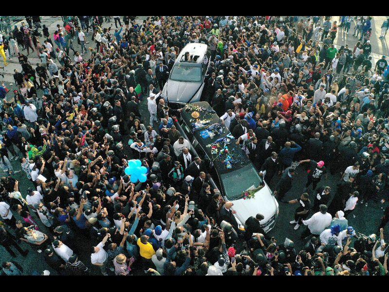 На похоронах рэпера Nipsey Hussle устроили расстрел: детали смертельной бойни