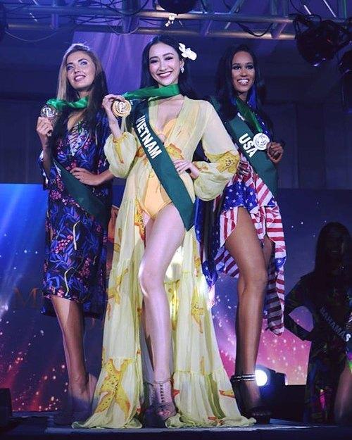 Представительница Украины одержала бронзу на интернациональных состязаниях красоты
