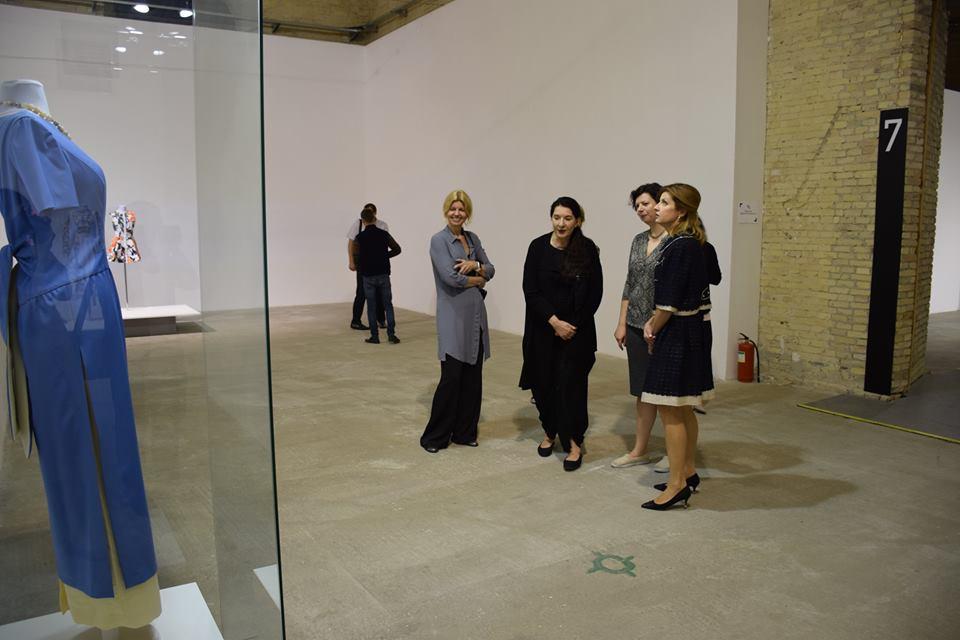 Картинки по запросу Марина Порошенко и Марина Абрамович