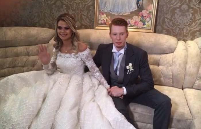 Видео со свадьбы никиты преснякова и алены красновой