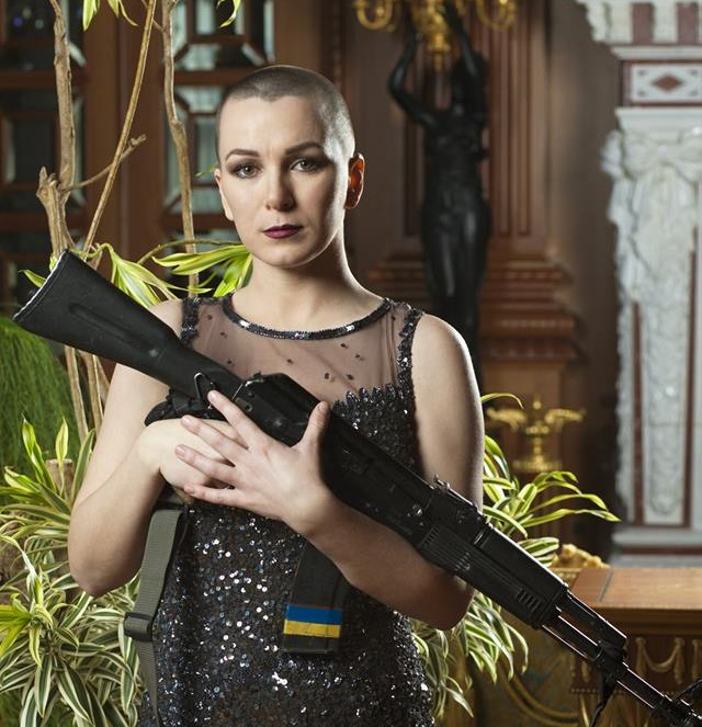 В сети показали красоту женщин-воинов