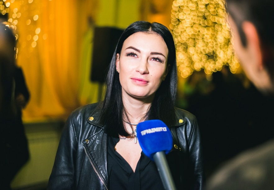 Анастасия Приходько подискутировала на тему отношений Украины и России