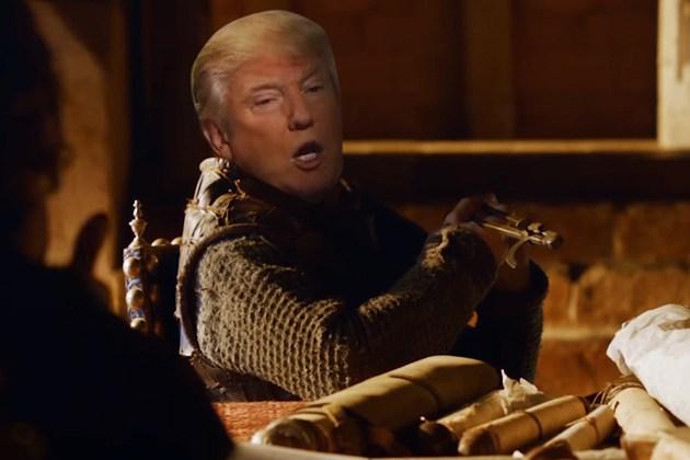 Дональд Трамп появился в роли одного из героев известного сериала