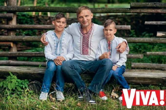 Олег Скрипка поделился секретами воспитания детей