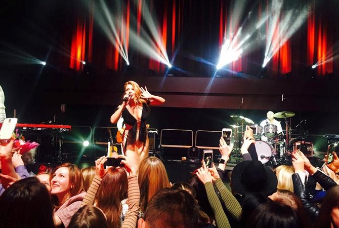 Тина Кароль выступила в Лондоне