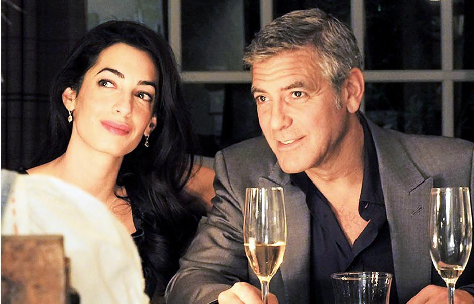 Джордж иАмаль Клуни готовятся кразводу на $300 млн.