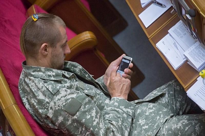 Под украинским парламентом обнаружен знаток нардепов