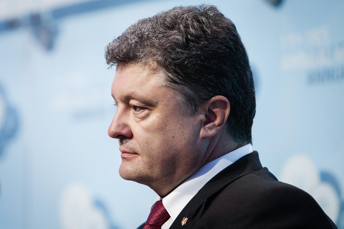Кортеж Порошенко разросся