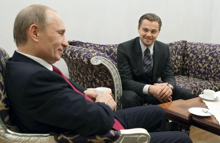В нем оказались Обама, Путин, Цукерберг и ДиКаприо