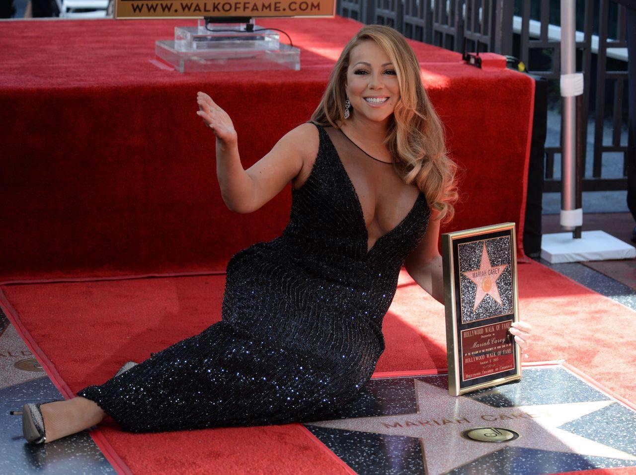 Американская певица Мэрайя Кэри стала жертвой вандалов
