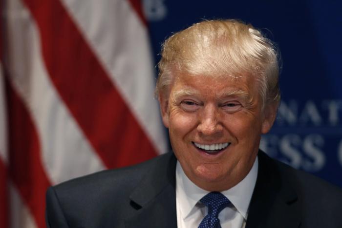 Трамп поразил невыразительным лицом