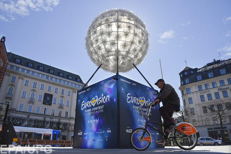 Джамала представила Украину в финале песенного конкурса