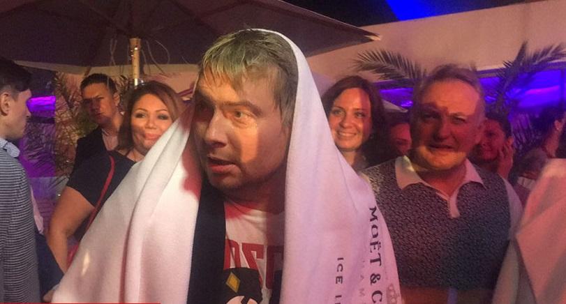 На московской тусовке засветились Ани Лорак и Алина Гросу, а Николай Басков поплавал в бассейне