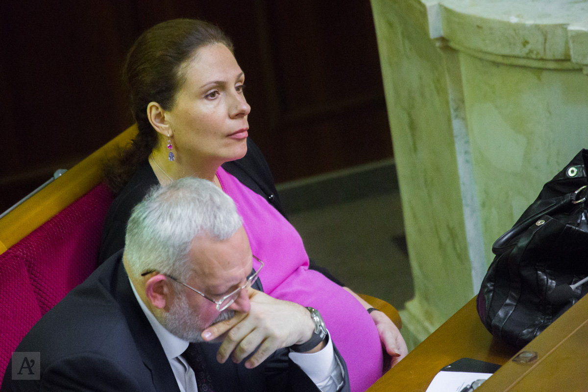Беременная Юлия Левочкина появилась в Раде в день отчета о работе правительства