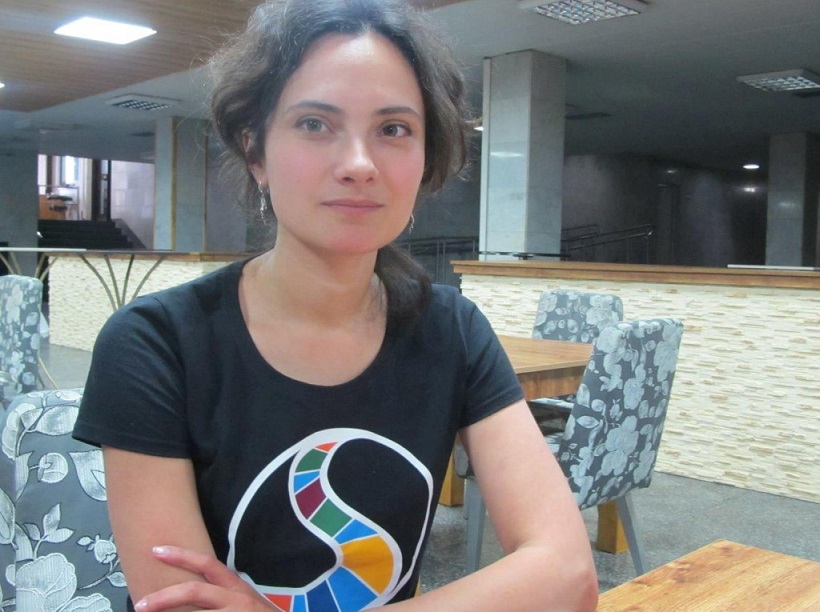 Анастасию Мельниченко заблокировали в сети