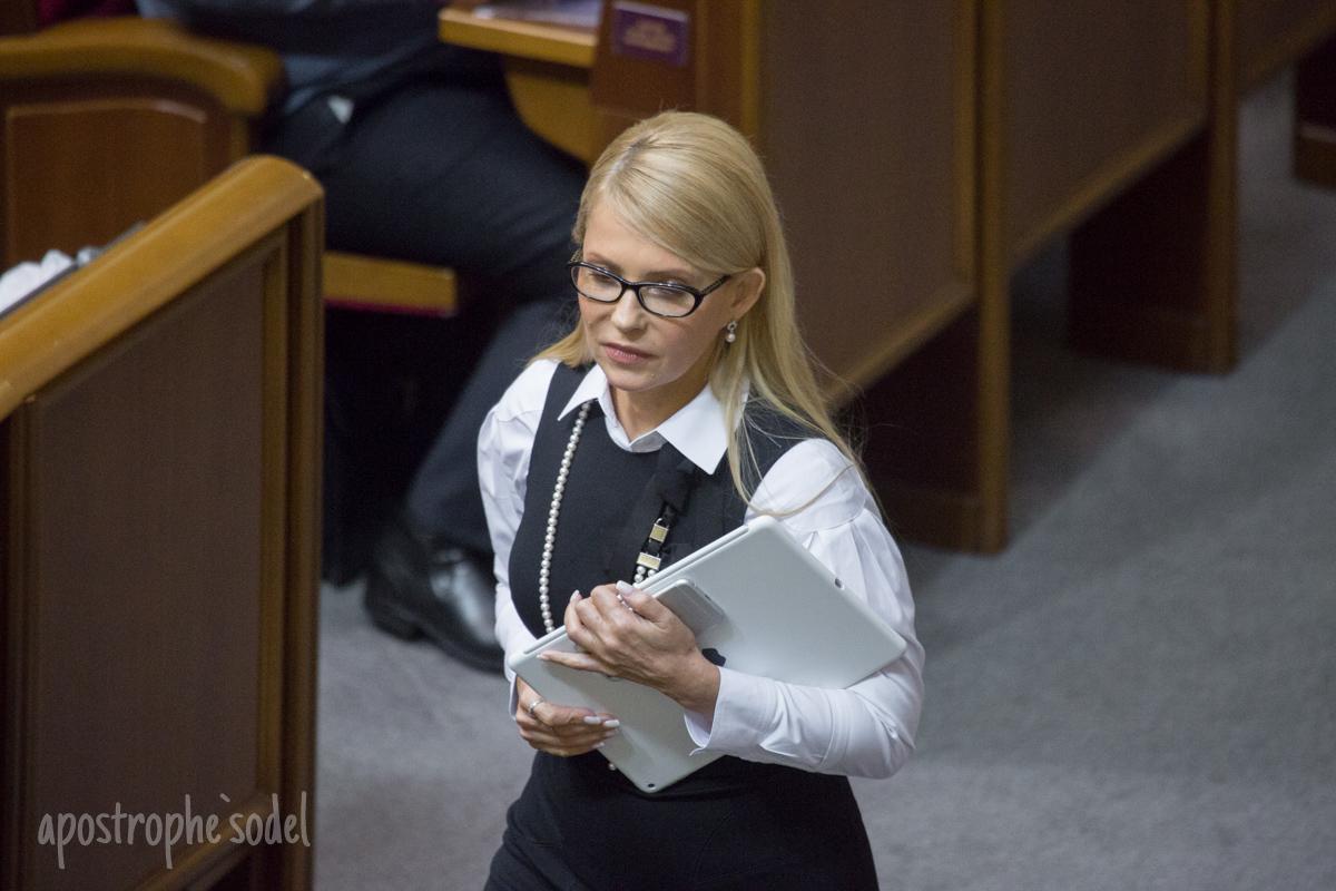Юлия Тимошенко делает мезотерапию волос, а Терезия Яценюк экспериментирует с ботоксом