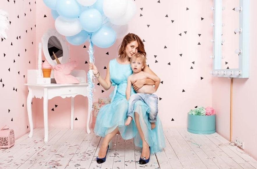 Актриса Cтася Ровинская показала, как быстро растет ее сын Эней