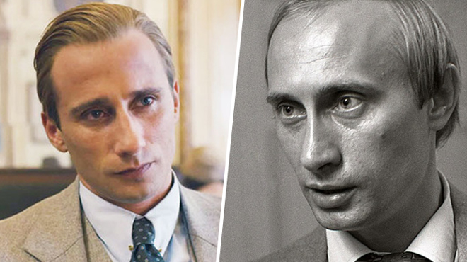 Актер Маттиас Шонартс имеет портретное сходство с президентом России