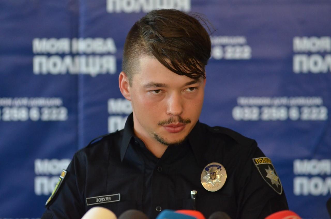 Глава патрульных Киева Юрий Зозуля стал папой