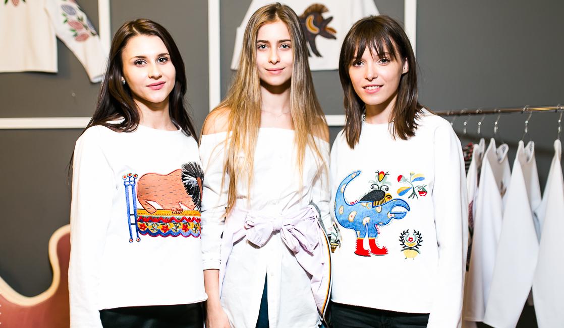 Анна К переместила элементы элементы картин Примаченко на одежду