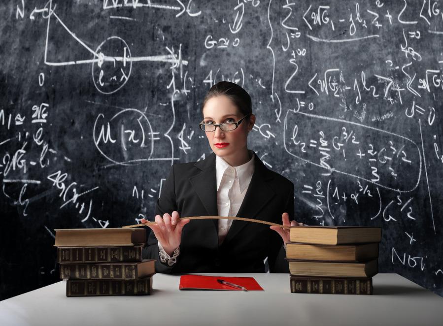Математичка нашла себе оригинальное хобби