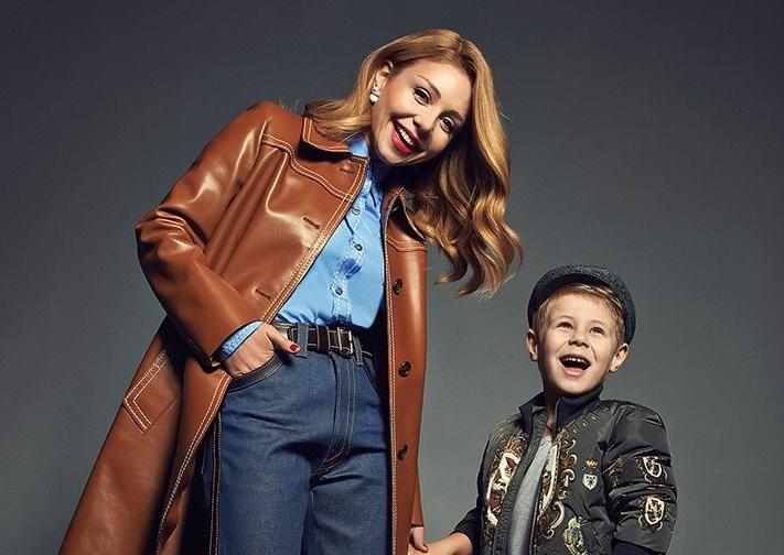 Украинская певица поздравила своего сына Вениамина с 8-летием