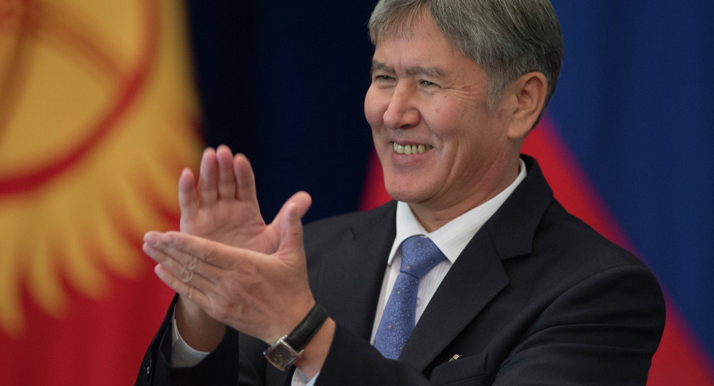 Алмазбек Атамбаев презентовал свой третий клип
