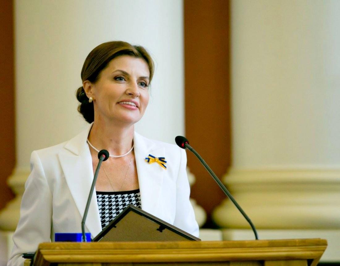 Марина Порошенко призналась, что гордится украинскими вышиванками