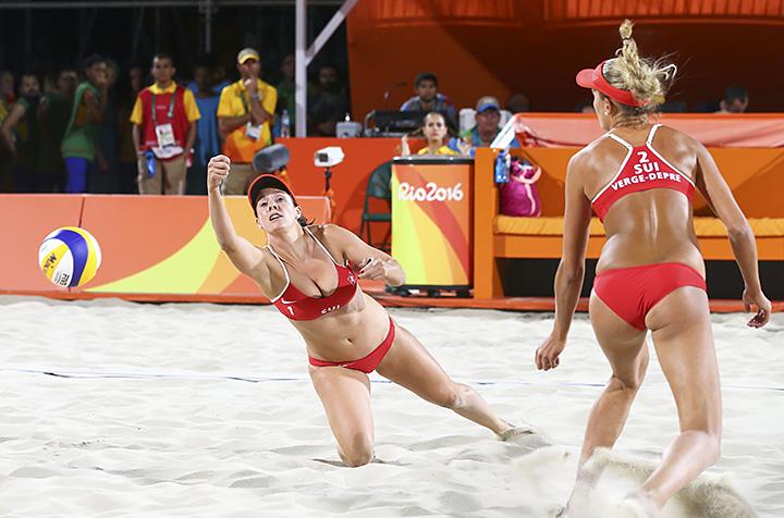 Волейболистка Изабель Форрер покорила своими формами