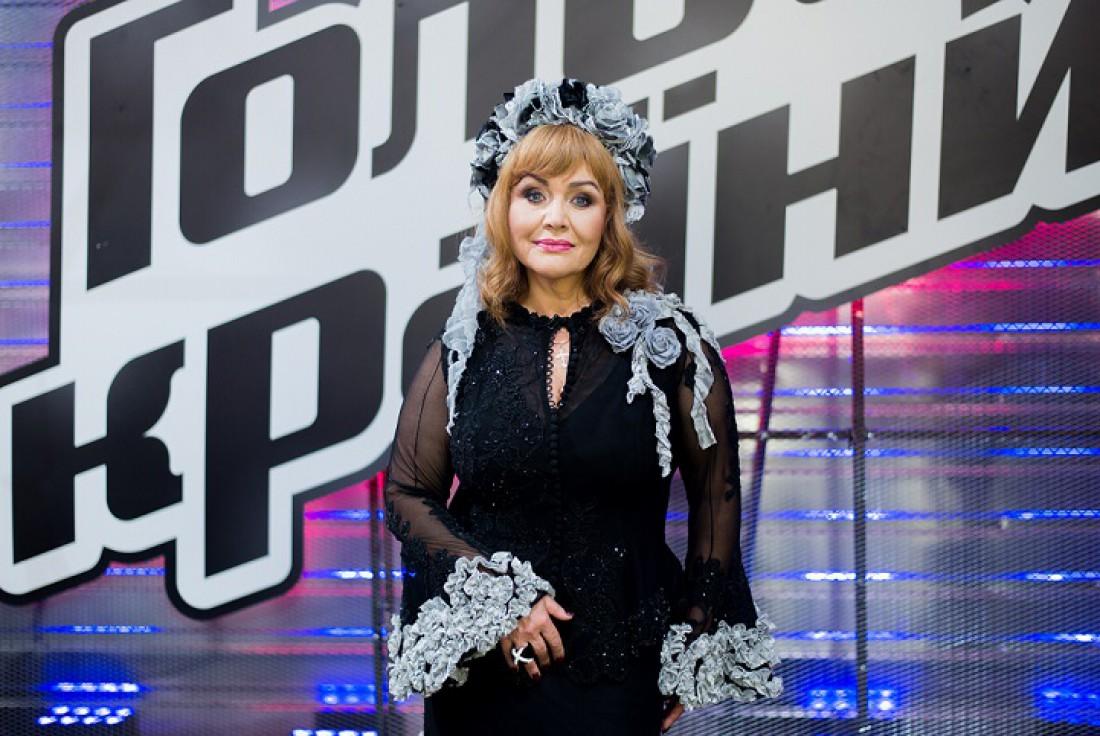 Национальная исполнительница Украины Алла Кудлай засветилась нашоу «Голос страны-7»