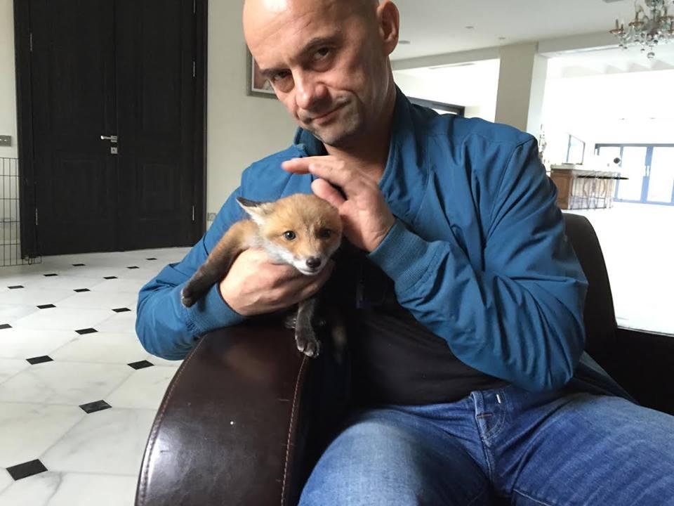Виталий Чепинога спас лисенка