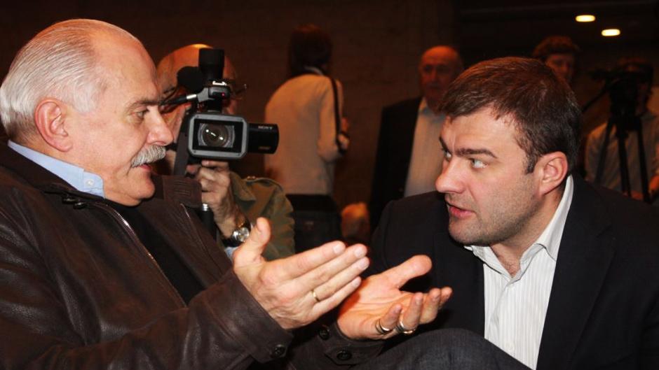 Михалков и Пореченков делят оккупированный Крым