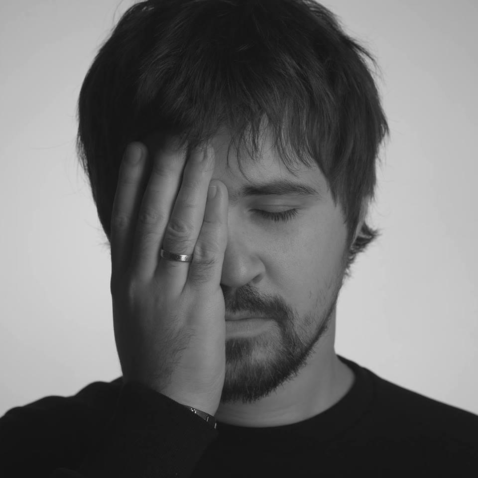 Российский протестный музыкант Василий Гончаров
