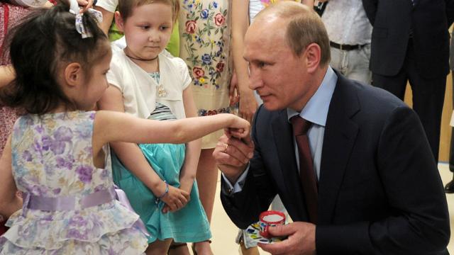 РосСМИ вспомнили, какие дети нравятся Путину