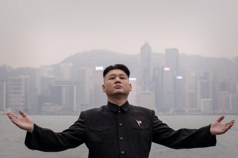 Ким Чен Ына превратили в Губку Боба