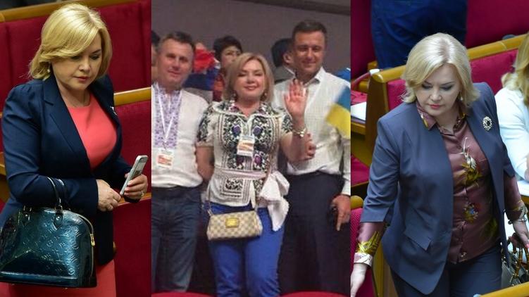 Певица и нардеп Оксана Билозир оказалась любительницей Louis Vuitton и Gucci