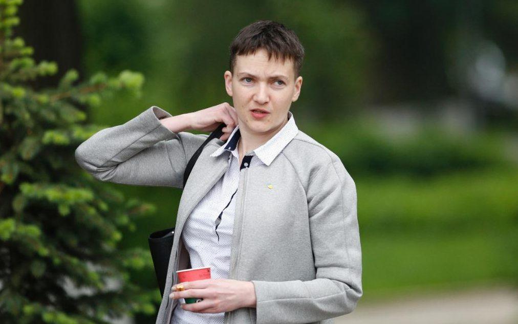 У Надежды Савченко нет времени на фитнес-клуб и парикмахера