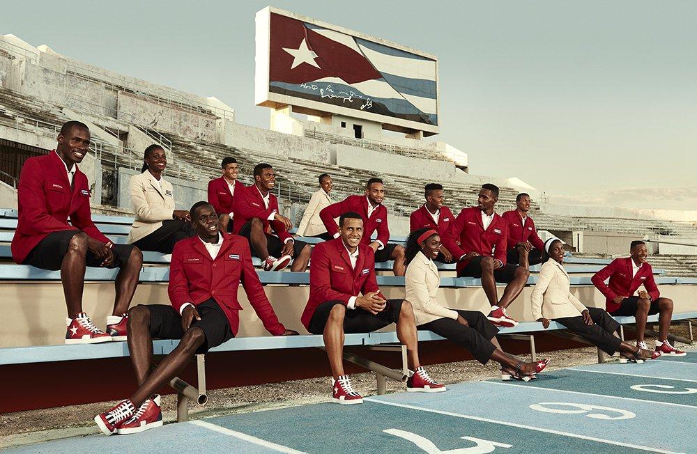 Кристиан Лубутен создал форму кубинским спортсменам
