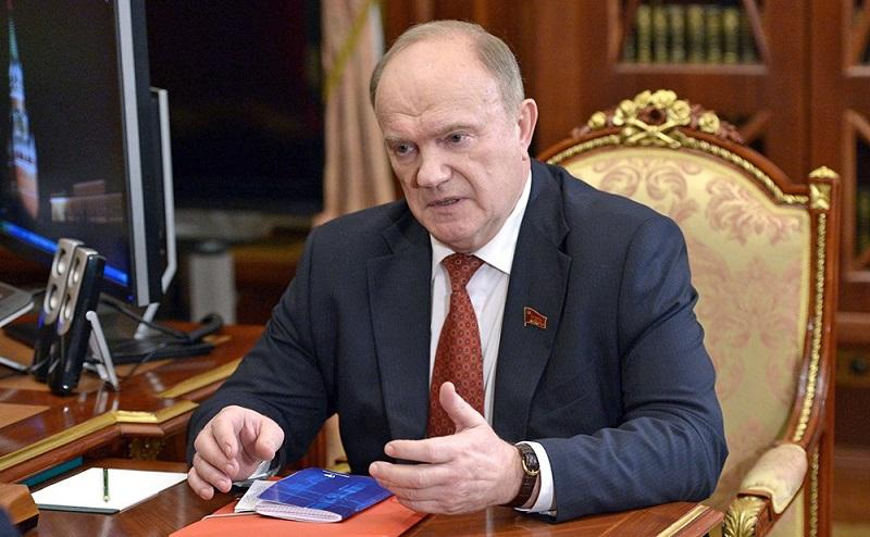 Геннадий Зюганов уличил Поклонскую в слабоумии
