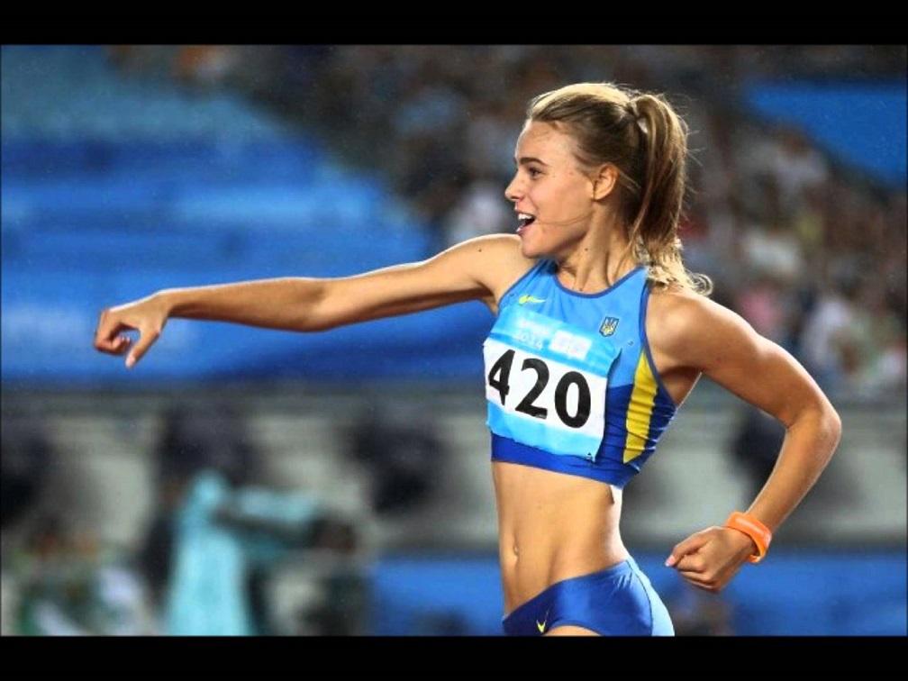 Чемпионка по прыжкам в высоту Юлия Левченко предстала во всей красе