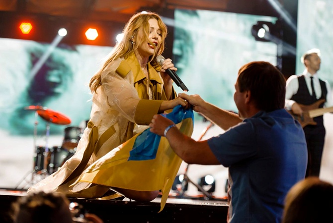 Тина Кароль выступила в Юрмале