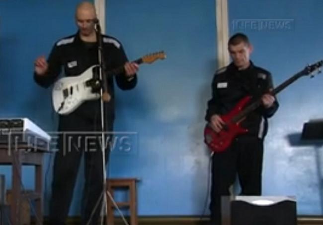 Группа последователя Чикатило участвует в конкурсе тюремной песни