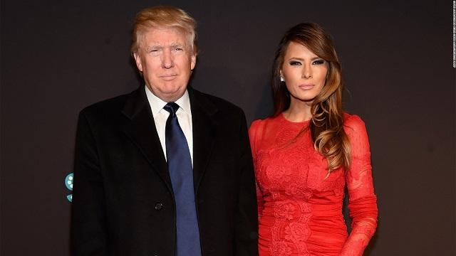 Мелания Трамп позировала обнаженной